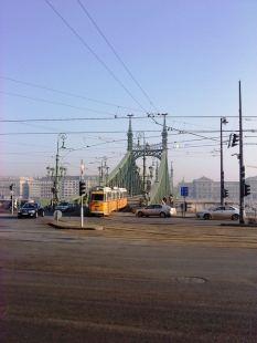 Budapest, 自由橋(元フランツ・ヨゼフ橋)のブダ側の袂